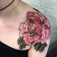 Pictures Of Tattoos On The - best 25 japanese peony ideas on japanese