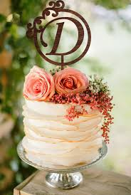 letter wedding cake toppers d letter wedding cake topper gold monogram wedding cake topper d