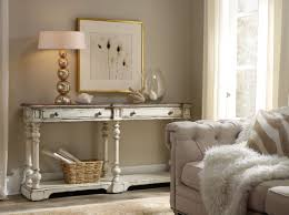 sanctuary 4 drawer console table hooker furniture living room sanctuary thin console 5403 85003