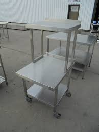 Used Stainless Steel Tables by Secondhand Catering Equipment Stainless Steel Tables