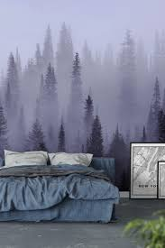 90 best forest wall murals images on pinterest wallpaper designs misty forest black and white wall mural wallpaper