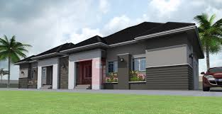 Contemporary Bungalows Contemporary Nigerian Residential Architecture 3 Bedroom Semi