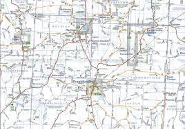 Alfred New York Map by Allegany U0026 Cattaraugus Counties Jimapco