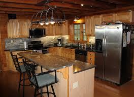 Kitchen Island Cabinet Kitchen Rustic Kitchen Design With Small Soft Brown Kitchen