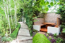 L Shaped Garden Design Ideas Built In Garden Seating Design Ideas Landscape Traditional With L