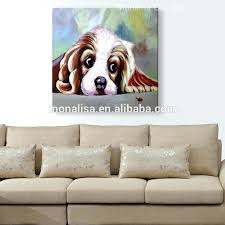 dog on bed painting abstract dog paintings abstract dog paintings supplieranufacturers at dog curled dog on bed painting