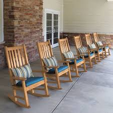 Rocking Chair With Cushions Teak Outdoor Chairs Weymouth Rocking Chair Country Casual