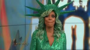 U0027s Wrong Halloween Costume Edition Shocking Moment Chat Show Host Wendy Williams Faints Live