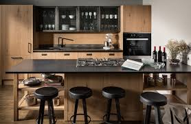 the fashion kitchen scavolini and diesel meld rustic and luxury