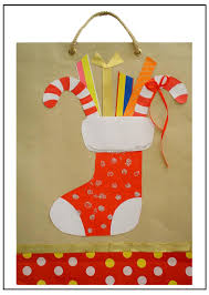 paper bag christmas crafts laura williams