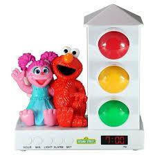 Elmo Bathroom Set Sesame Street Elmo And Abbey Stoplight Sleep Enhancing Alarm
