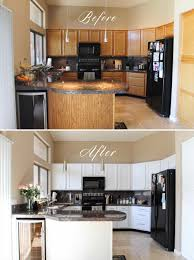Kitchen Cabinets Before And After Cabinets Yourself Home Design Ideas Winters Texas Remodeling