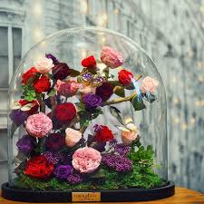 enchanted rose that lasts a year real beauty and the beast roses exist and they ll last for 3