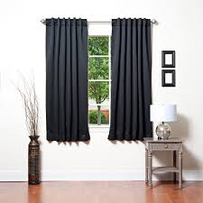 Black Leather Accent Chair Decor White Extra Long Curtain Rods With Decorative Grommet