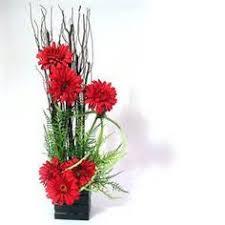 images of exotic silk flower arrangements tropical flower