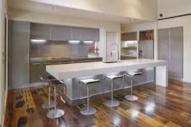 contemporary white gloss kitchen island design ideas come with