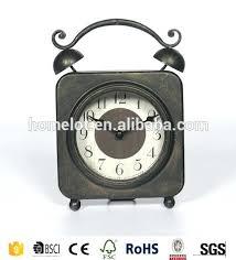 Small Desk Clock Fashioned Table Clocks Unique Table Clocks Small Desk Clock