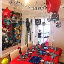 transformers party decorations gamer party supplies shop party supplies