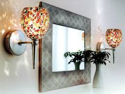 Glass Wall Sconce Candle Holder Stained Glass Wall Candle Holders Candles Decoration