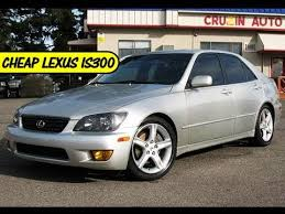 2002 lexus is300 sports silver sedan for sale 9000 at