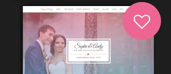 wedding web 60 best html wedding website templates 2017