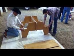 knock down picnic table plans amazing portable picnic table from single sheet of plywood youtube