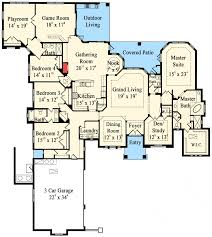 Patio Home Plans Plan 42041mj Grand Mediterranean Home Plan Home Theater