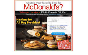 mcdonalds e gift card free mcdonald s visa coke gift cards and coupons couponking me