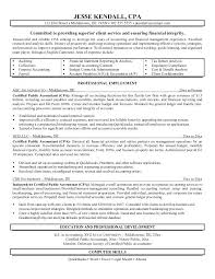 accounting resume examples u2013 inssite