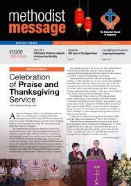 methodist message february 2016 issue by methodist message issuu
