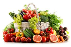 fruit and vegetable baskets vegetable basket images stock pictures royalty free vegetable