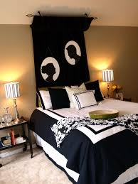home decor black and white bedroom excellent modern applying