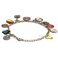 halloween charm bracelets amazon com avengers marvel bracelet for men women superheroes