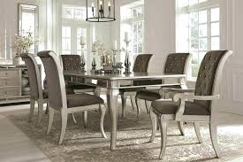 large glass top dining table round glass dining table set lesgavroches co