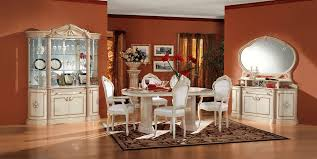 Royal Dining Room by Rosella Ivory Lacquer Finish Royal Classic Dining Room By Esf