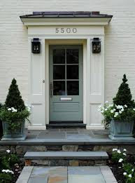 Colonial Homes Colonial Front Door All Old Homes Latest Planters For Yard