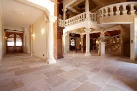 indoor tile floor natural stone matte auberoche bouriane