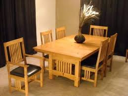 Mission Style Dining Room Tables Beautiful Craftsman Dining Room Table Photos Rugoingmyway Us