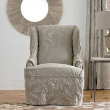 white wing chair slipcover soffa page 5 wingback chair slipcover diy wingback chair covers