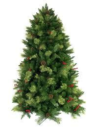 tree with pine cones decor ideas