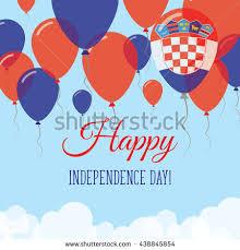 malaysia independence day flat patriotic card stock vector