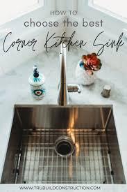 24 inch wide kitchen sink base cabinet how to choose the best corner kitchen sink trubuild