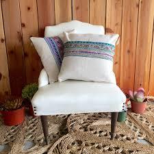 Hippie Home Decor Hemp Vintage Hmong Fabric Pillow Case Modern Day Hippie