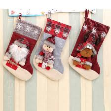 online get cheap large christmas stocking aliexpress com