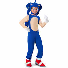 sonic the hedgehog sonic child halloween costume walmart com