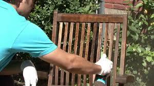Huile Pour Ipe Rénover Le Mobilier De Jardin En Teck Youtube