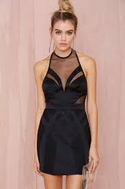 nasty gal collection tight race mesh dress thanks it u0027s new