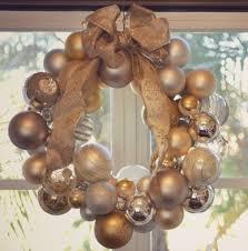 diy ornament wreath how to make an ornament wreath