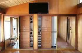 Wood Closet Doors Fascinating Closet Door Ideas Suggestions For Modern Home Design