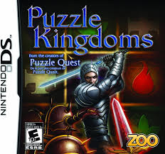 amazon com puzzle kingdoms nintendo ds video games